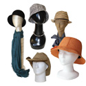 Mannequin Display Heads