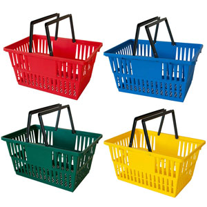 Plastic Individual Shopping Basket
