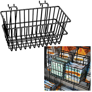 Multi-Fit Wire Baskets - 12'' x 6'' x 6''