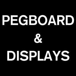 Zumiez Displays & Pegboard (Gray)